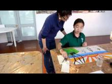 Another short video from Estel Slabbert's art class